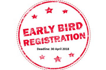 Early Bird Registration 1